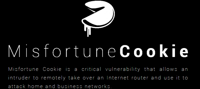 MISFORTUNE COOKIE vulnerabilidad en routers
